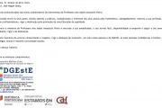 Comunicado - Delegado Regional da Educação do Algarve