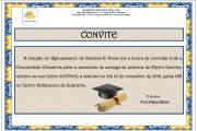 Convite - Prémios de Mérito Escolar