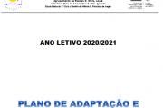 Plano de Adaptação e Contingência Escolar 2020/2021