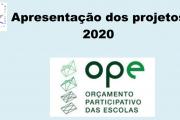 OPE - Apresentação de Projetos 2020