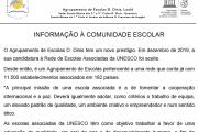 Informação à Comunidade Escolar