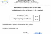 Agendamento de Entrevistas - Hotelaria / Restauração - H22