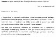 """Divulgação da formação MOOC """"Bullying e Ciberbullying: Prevenir e Agir (II)"""""""