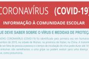 Informação à Comunidade Escolar - COVID-19