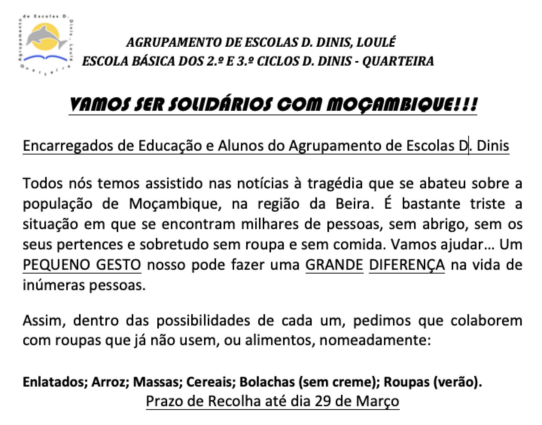 Vamos Ser Solidarios Mocambique