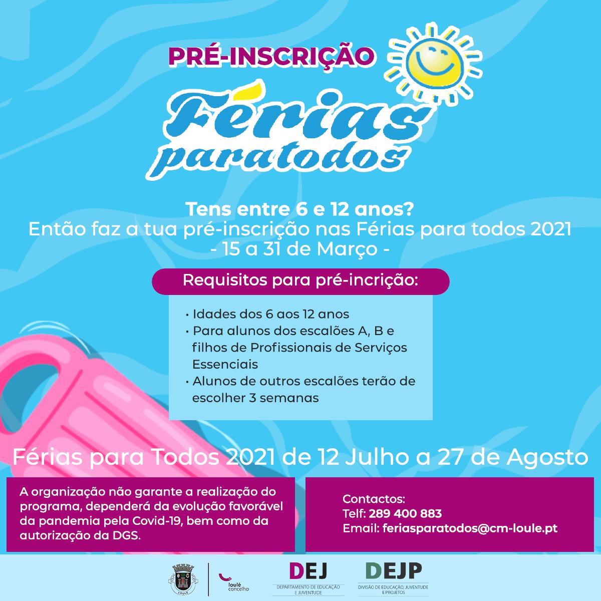 Ferias para Todos Post2021